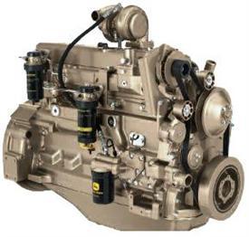 Дизельный двигатель John Deere PowerTech E рабочим объемом 6.8 л