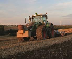 AutoTrac-styrenhet på traktorer av andra märken
