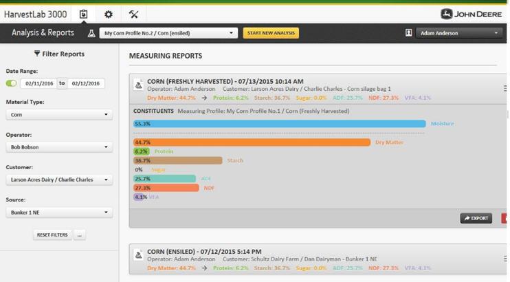 Förbättrat, användarvänligt webbgränssnitt för stationär tillämpning