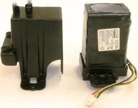 Li-ion-batteri med hölje