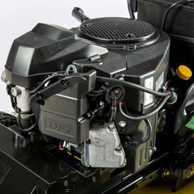 Tystgående V-twin-motor
