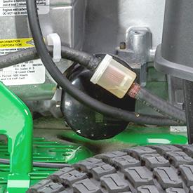 Utbytbart oljefilter och bränslefilter