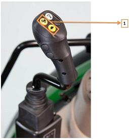 Manuellt manövrerad joystick med GSS