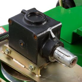 Drivaxel för klippdäckets kraftuttag (PTO)