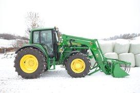 Backa traktorn
