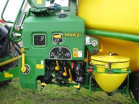 M900i manövercentral med automatisk påfyllnign (tillval)
