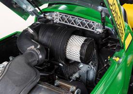 Gas-lift hood shocks