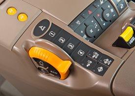 AutoTrac-återgångsknapp och iTEC-strömbrytare