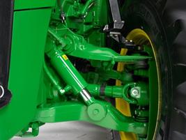 8R-traktor utrustad med ILS-axel