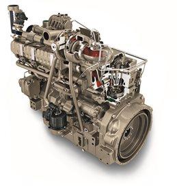 Yanmar 3-cylindrig dieselmotor i TNV-serien