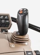 Elektrisk joystick för frontlastare