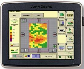 GreenStar™ 3 2630 Ekranda değişken oranlı uygulama