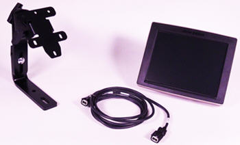 Conjunto de tractor/pulverizador: monitor de 26.4 cm (10.4 in), soporte de poste A, cable de monitor