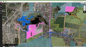 Historial de ubicaciones en el Centro de Operaciones de John Deere