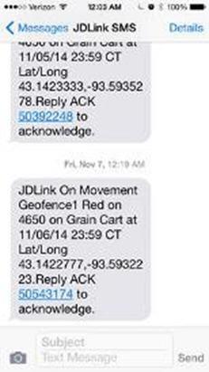 Mensaje de texto SMS