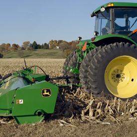 Enganche con el tractor de arrastre