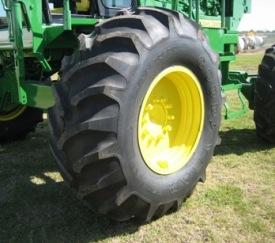 Neumáticos grandes para mayor tracción