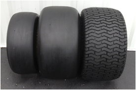 Opciones adicionales de neumáticos y rines para aplicaciones en césped
