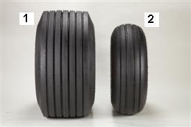 Neumáticos de flotación alta