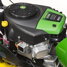 Se muestra el motor de 24 hp (17.9 kW)