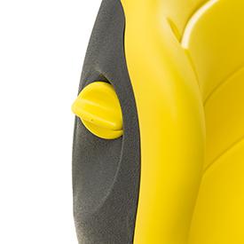 Perilla de ajuste lumbar del asiento