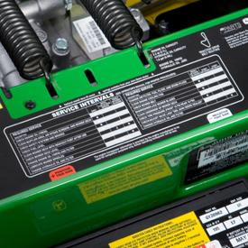 Adhesivo de intervalo de mantenimiento (se muestra la serie Z500)