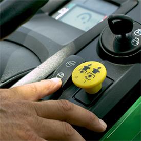Interruptor MulchControl eléctrico de un toque