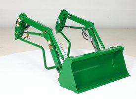 Sistema de montaje del cargador frontal Quik-Park™