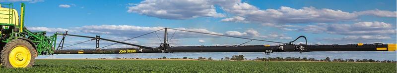 Barra de pulverización de fibra de carbono con 36.6 m (120 ft.)