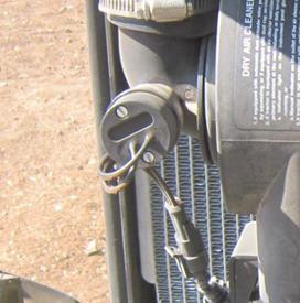Filtro de aire de tipo seco con indicador de obstrucción