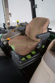 Asiento ajustable textil Deluxe