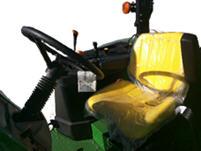 Asiento estandar con suspensión mecánica para tractores de estación abierta