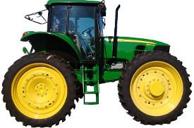 Rodado delantero 320/90R50 y 320/90R50 para el trasero rodado