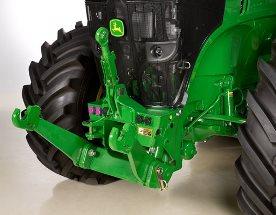 Tractor de la Serie 7R con enganche delantero