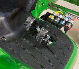 Controles por pedal Twin Touch