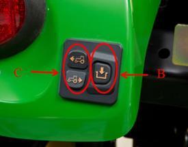 Botones de activación y direccionales