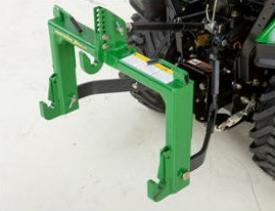Enganche rápido Quick-Hitch de iMatch con acoplamiento de cortador giratorio