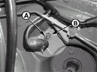 Sensor de velocidad situado en el rodillo de alimentación