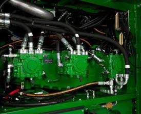 Sistema de propulsión hidrostático