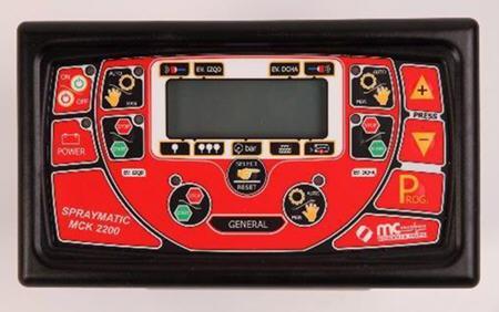 Controles del pulverizador MCK 2200