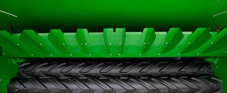 Paletas modeladoras montadas en el escudo de formación de cordones