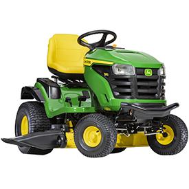 Tractor S160 con sistema de corte Edge™ de 122 cm (48 in)