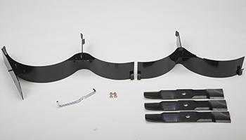 Componentes del accesorio para triturado (se muestra el modelo 48 HC)