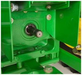 TDF de 540/1000 rpm