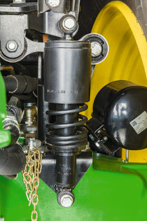 Suspensión mecánica de la cabina