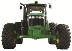 Tractor 7J para caña de azúcar