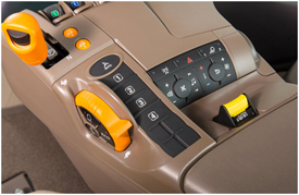 Botones de velocidades establecidas y mando de ajuste de velocidades establecidas