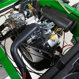 Motor TX (se ha retirado la cubierta para la ilustración)