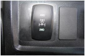 Interruptor basculante del diferencial delantero