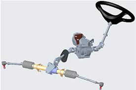 Sistema de la dirección asistida eléctrica